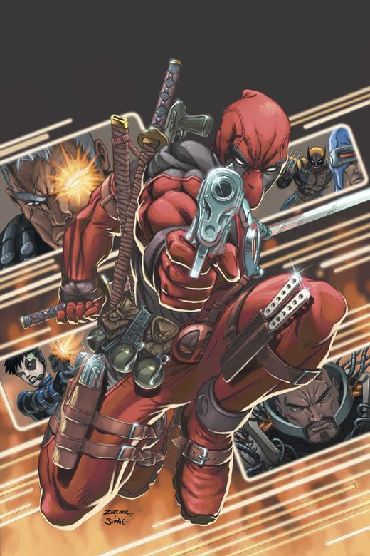 Cable Deadpool 9 Patrick Zircher X Y Z Deadpool Deadpool Art Marvel Comic Books