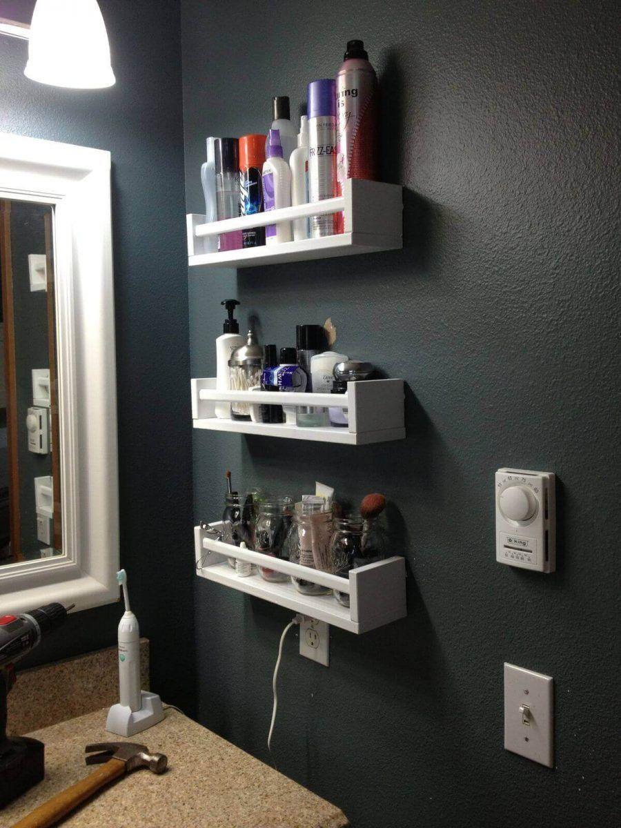 15 Irresistible Small Bathroom Storage Ideas Savvy Solution Smallbathroomstorage 15 Irr Bathroom Storage Solutions Bathroom Storage Small Bathroom Storage