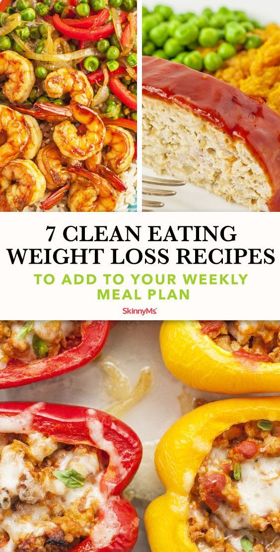 Eating Meals For Weight Loss Planning out your meals can be essential to losing weight if youre having trouble eating the correct portion sizes Thats where these 7 clean...