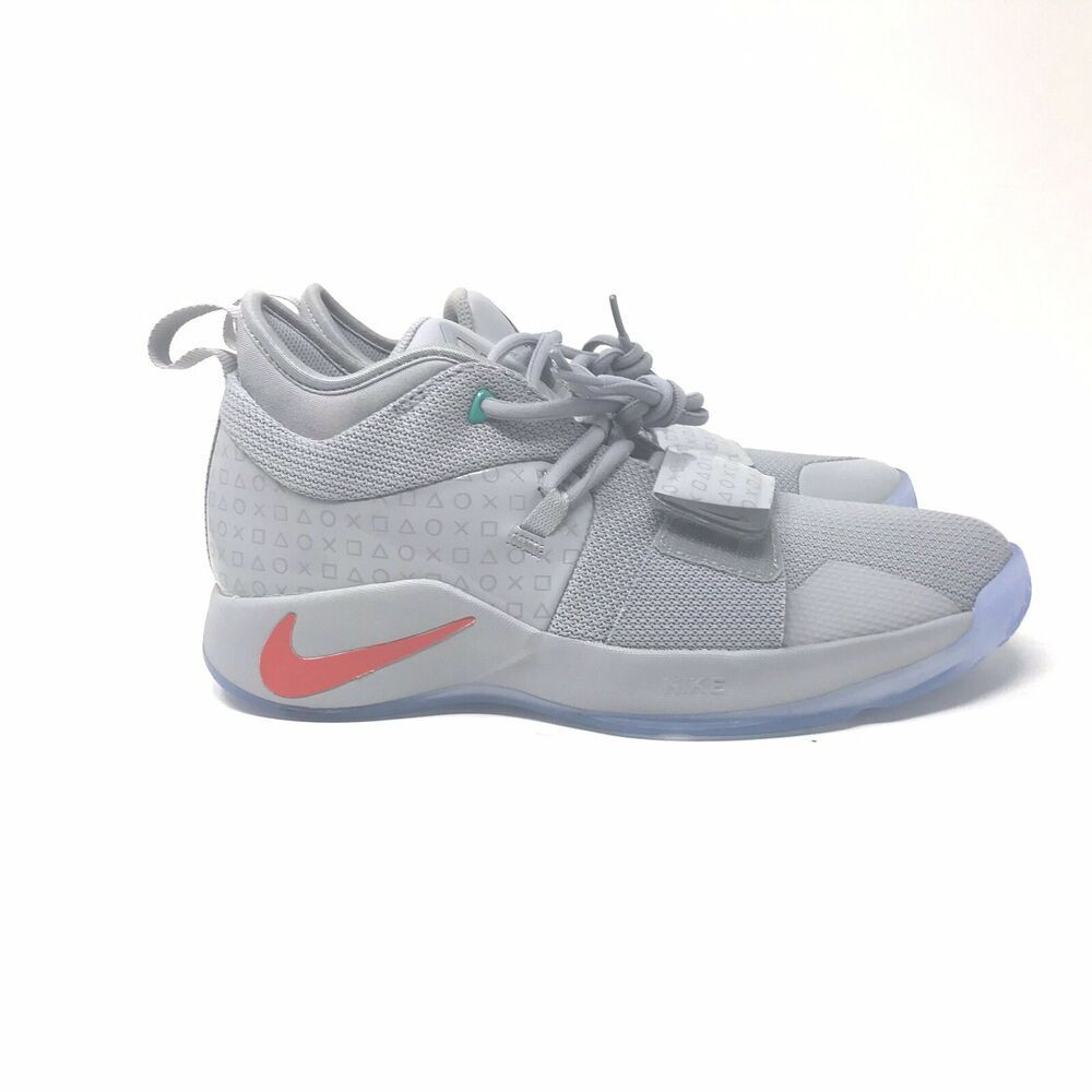 purchase cheap 20170 54f5f Nike PG 2.5 PlayStation Paul George PS4 Classic Wolf Grey GS ...