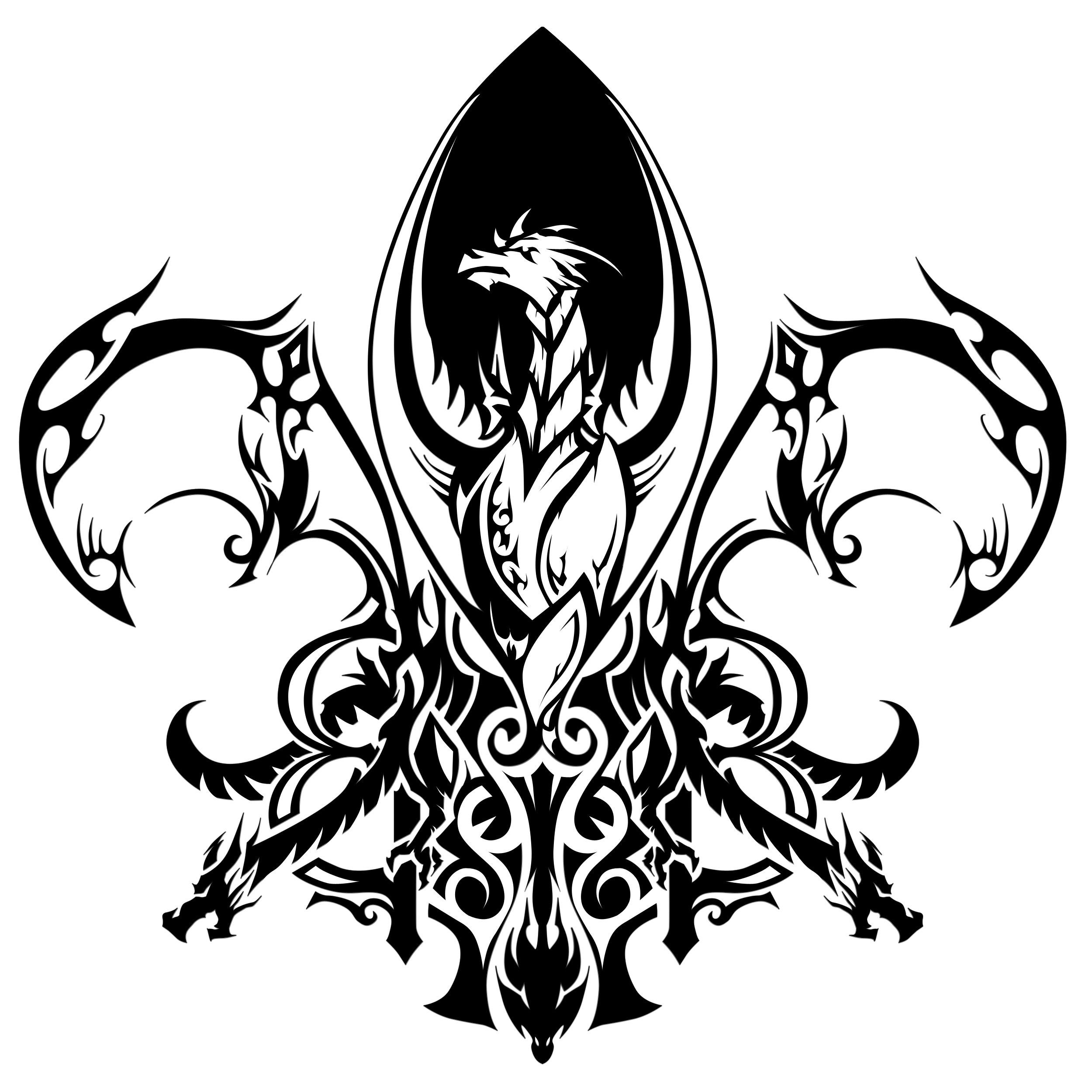 fleur de lis tattoos tattoes idea 2015 2016 the. Black Bedroom Furniture Sets. Home Design Ideas