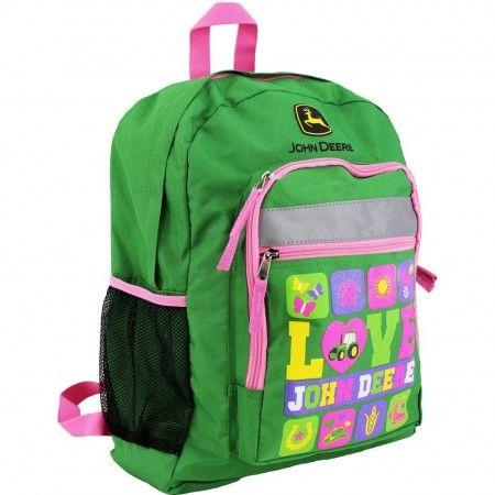 2d5fce7203 John Deere Love and John Deere Backpack