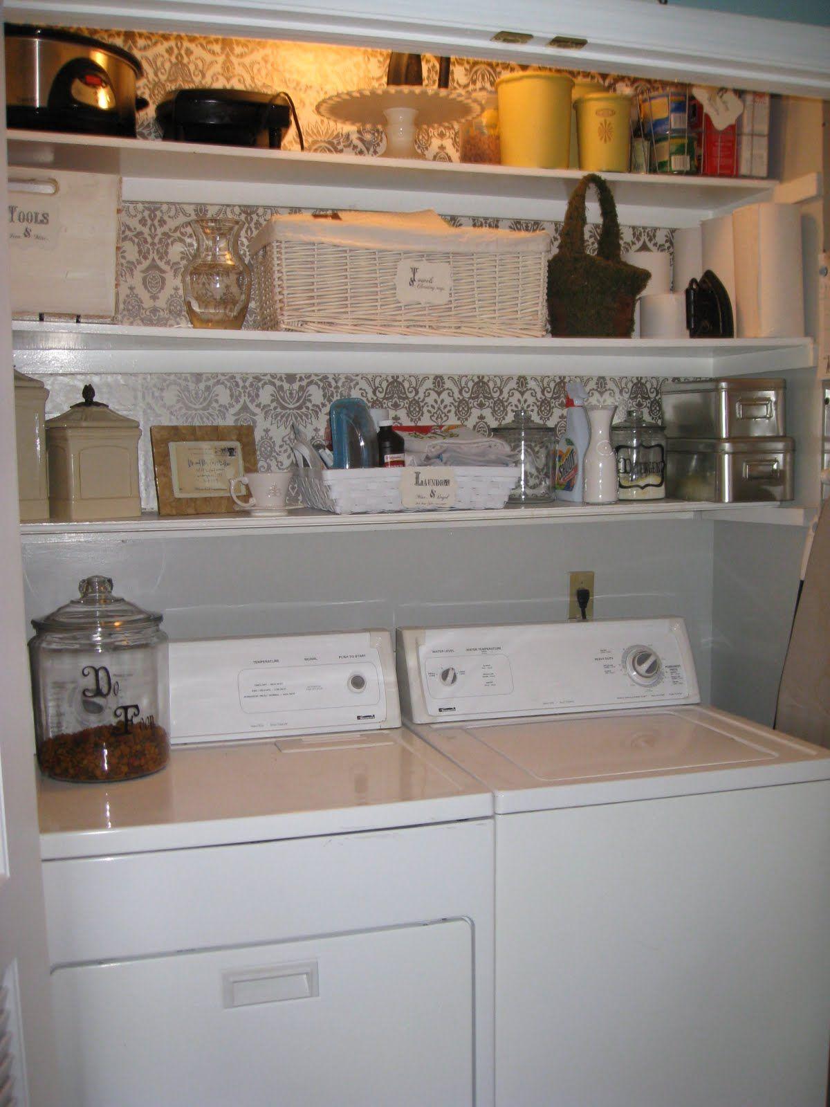 Pin By Mary Alicia Yates On Laundry Laundry Closet Makeover