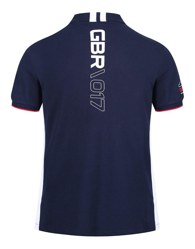 hackett men's aston martin racing gb polo shirt - navy | aston