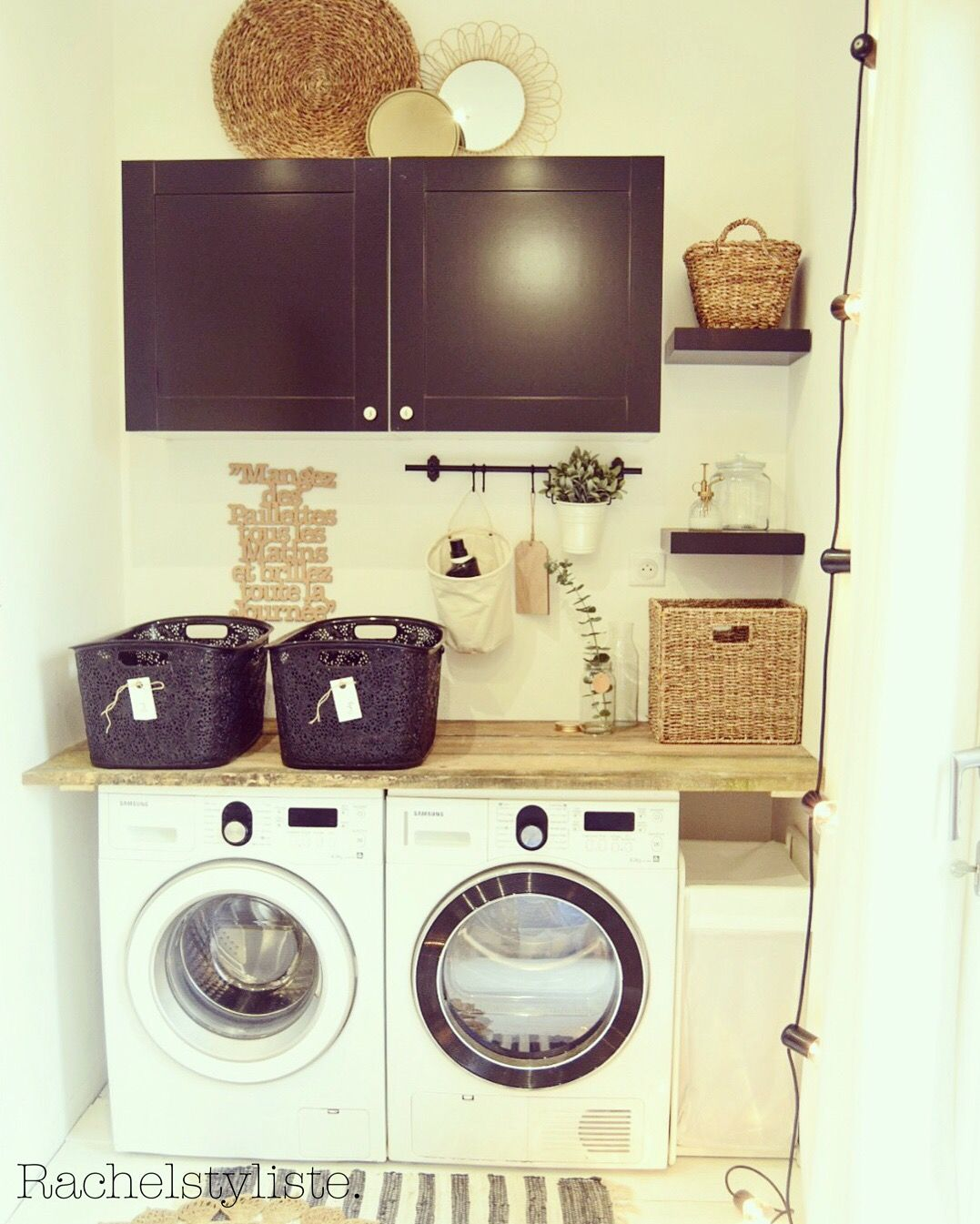 Maison | Salle de bain | Pinterest | Laundry, Laundry rooms and Lofts