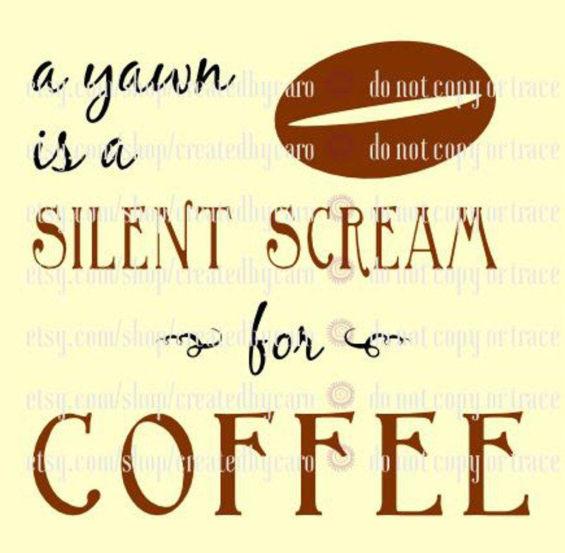 Silent Scream digital file by CreatedbyCaro on Etsy