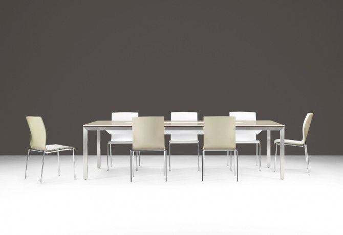Site Conference Table With Corian Top And Brushed Nickel Base - Corian conference table