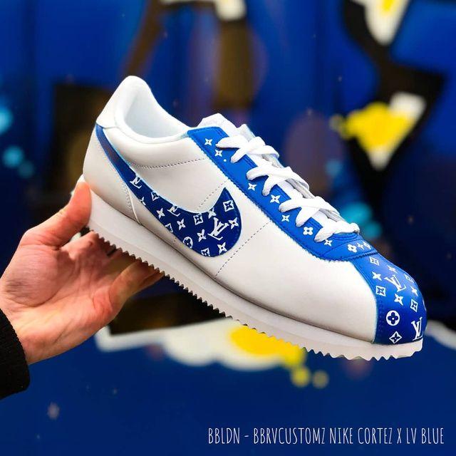 Nike cortez x Louis Vuitton customs