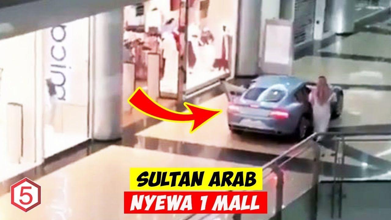 Real Sultan Sewa Satu Mall Buat Keliling Belanja Pake Mobil Mewah Mc Mobil Mewah Belanja