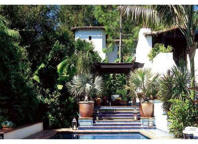 See more images from johnny galecki's los angeles villa on domino.com