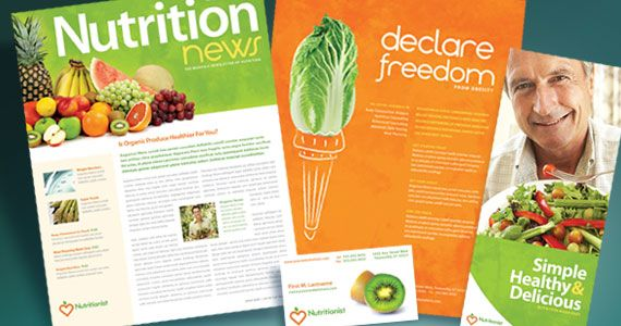 newsletter design ideas nutritionist dietician brochure newsletter poster stationery luxury20real20estate20newsletter20template20re006030120sjpg - Newsletter Design Ideas