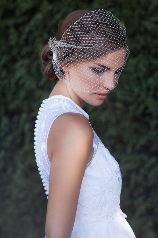 Wedding Wisdom - Choosing The Perfect Birdcage Veil By Percy ...