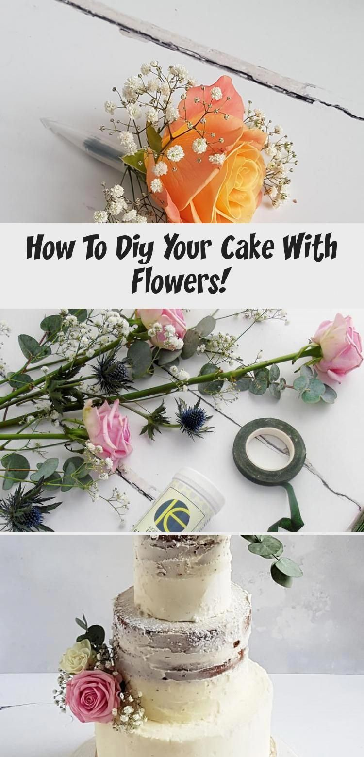 Follow the growing trend to bake your own wedding cake and decorate with this foolproof tutorial for safe and fresh flower decoration! #cakedecoration...#bake #cake #cakedecoration #decorate #decoration #flower #follow #foolproof #fresh #growing #safe #trend #tutorial #wedding