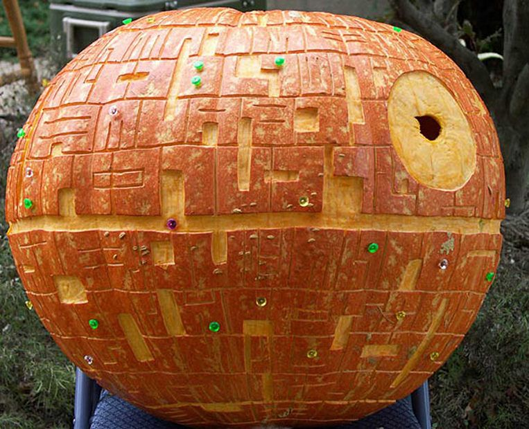 Star wars pumpkin carvings jack o lanterns