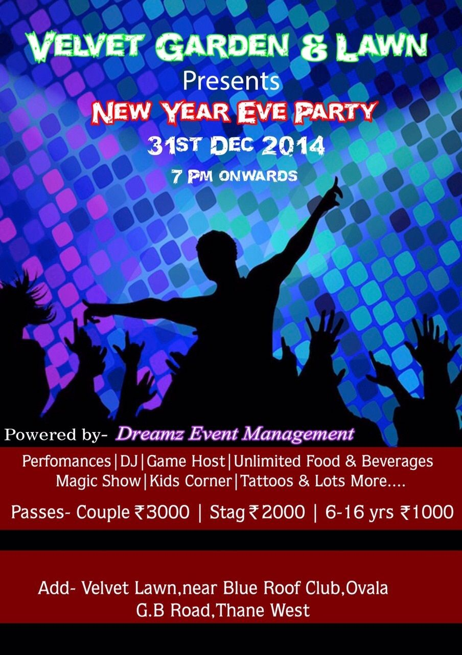 New Year Eve Party 2015 in Mumbai on December 31, 2014