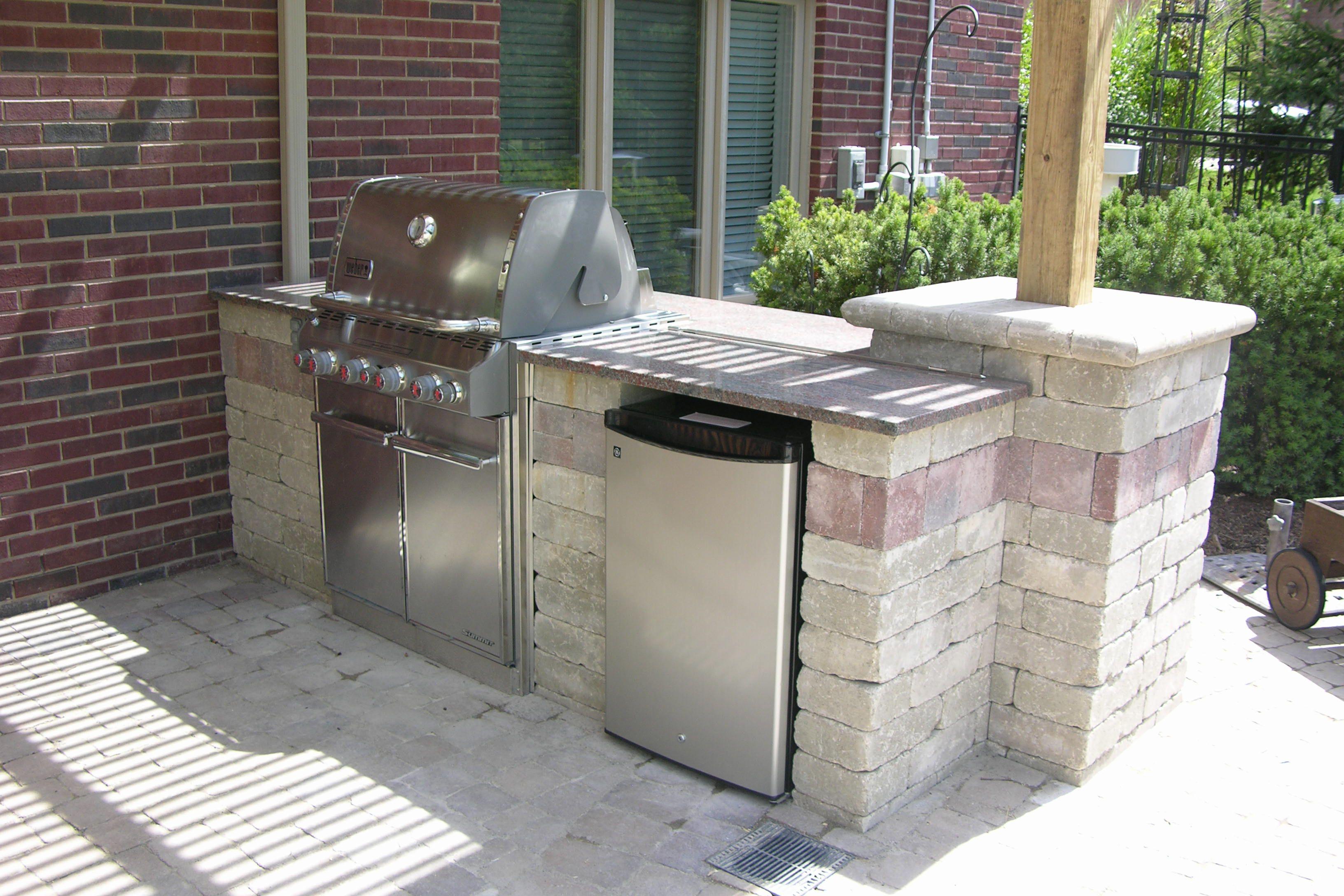Concrete Block Outdoor Kitchen Diy Outdoor Kitchen Cinder Block Adding Outdoor Kitchens Diy Outdoor Kitchen Build Outdoor Fireplace Build Outdoor Kitchen
