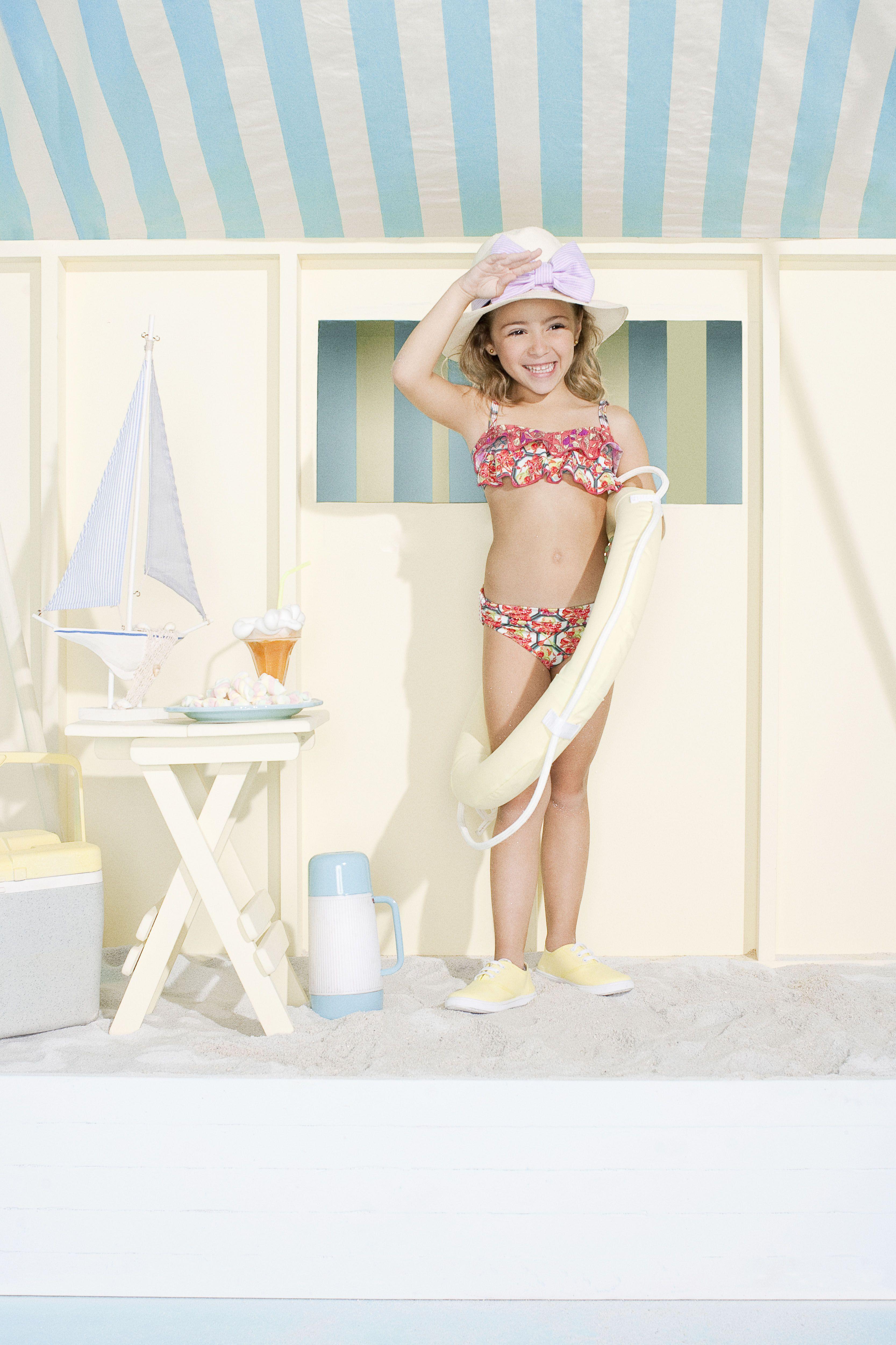 Tiny Maaji swimwear! Too cute! | Trajes de baño niñ@ ♚ | Pinterest ...