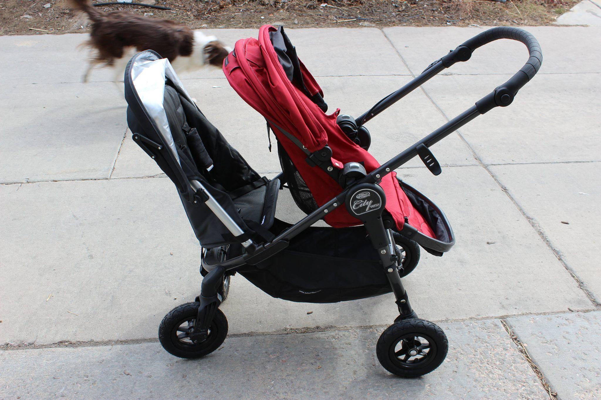 City Versa as a double PIP! Baby jogger, Stroller