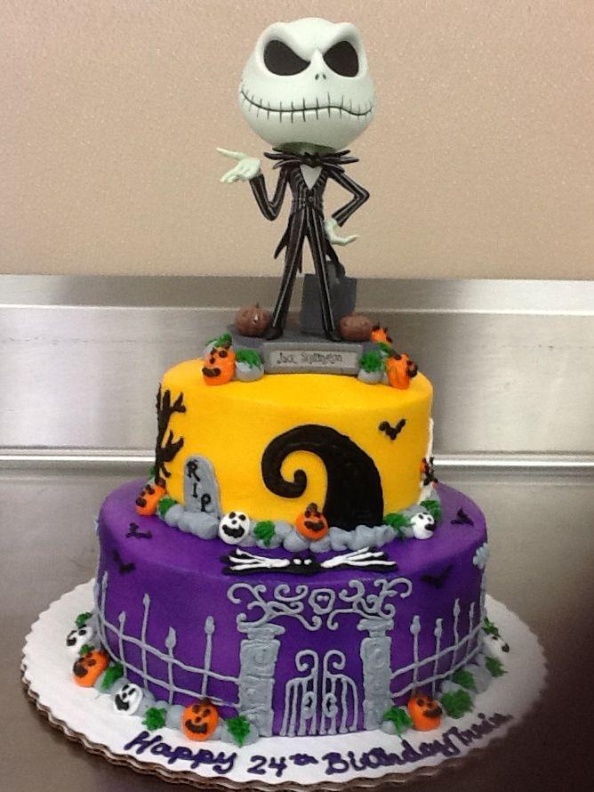 Jack Skellington cake fooddrinks Pinterest Jack skellington