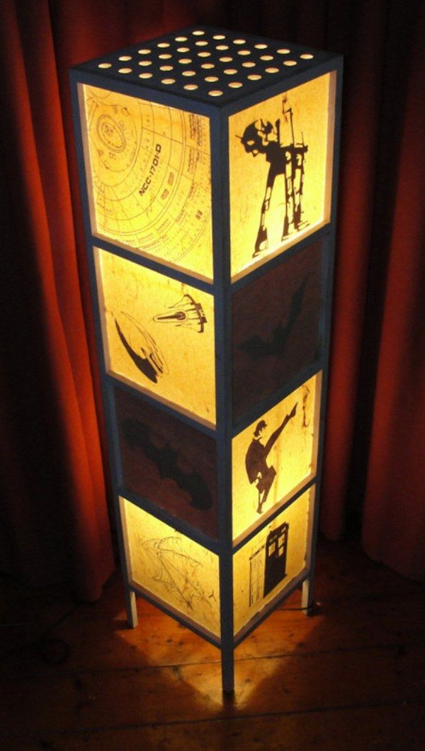 Geek lamp 1 funny and geeky pinterest diy xmas gifts xmas and do it yourself geeky homemade lamp solutioingenieria Gallery