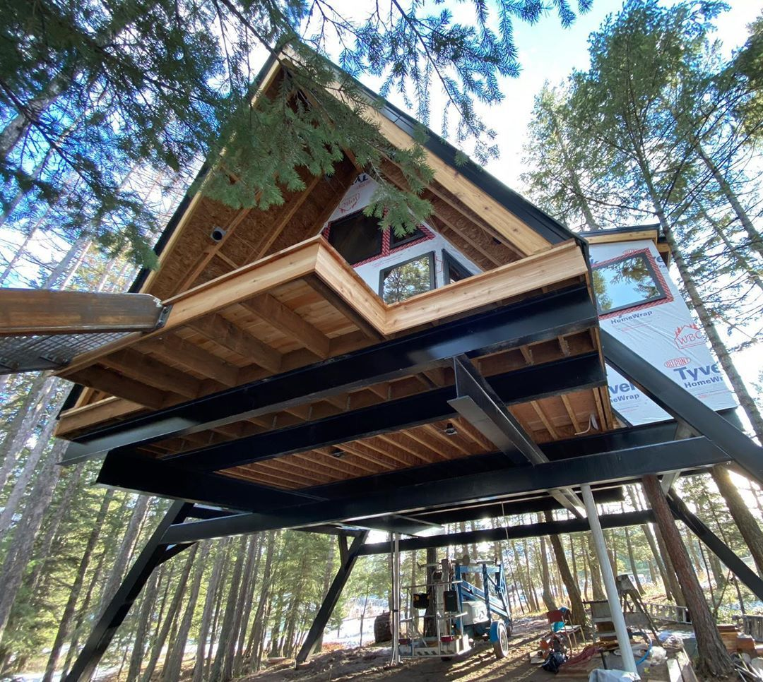 """Pete Nelson on Instagram """"Coolness coming mttreehouse"""