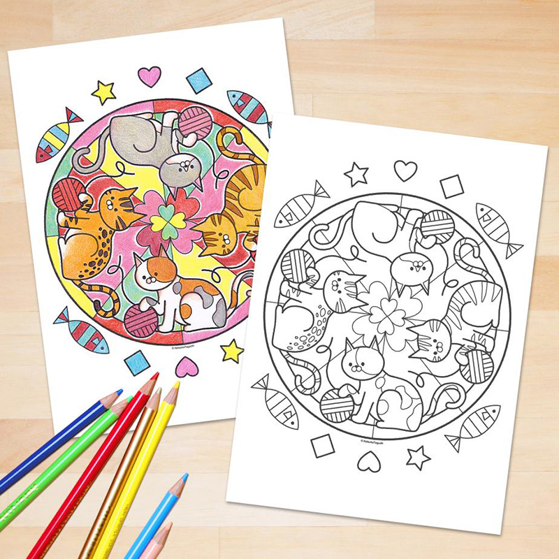 Free Kawaii Colouring Pages And Printables Coloring Pages Cute