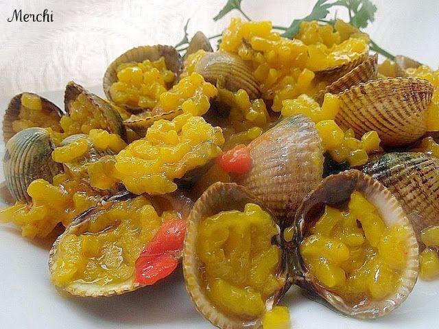 Con sabor a canela: Arroz con berberechos(gallegos)