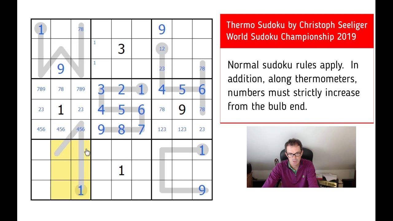 Try A Puzzle From This Year's World Sudoku Championship