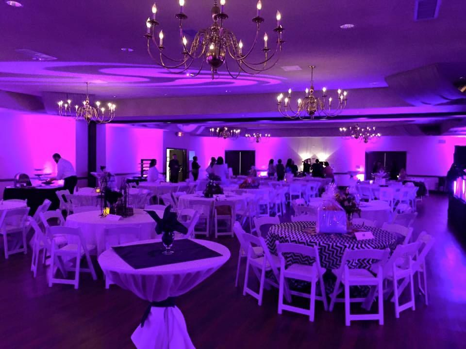 Architectural Wedding Lighting The Spa Event Center Porter