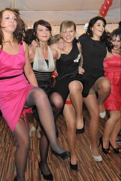Party girls in pantyhose pictures who