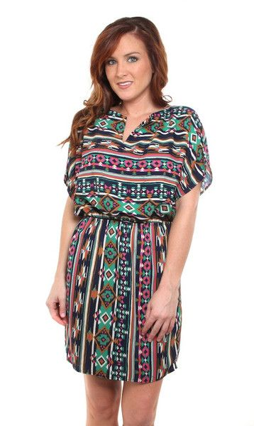 Aztec styles are really HOT right now!  Shop this cutie at KashCollection.Com