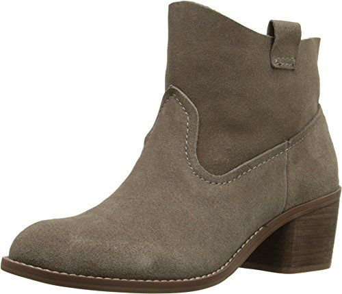 Carlos by Carlos Santana Women's Leighton Ankle Boot,Almond Suede,US 9 M *