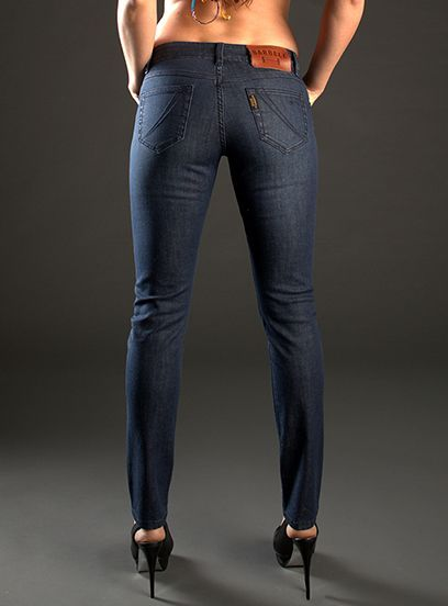 Finally! A Skinny Jean Made For Muscular Legs+#refinery29