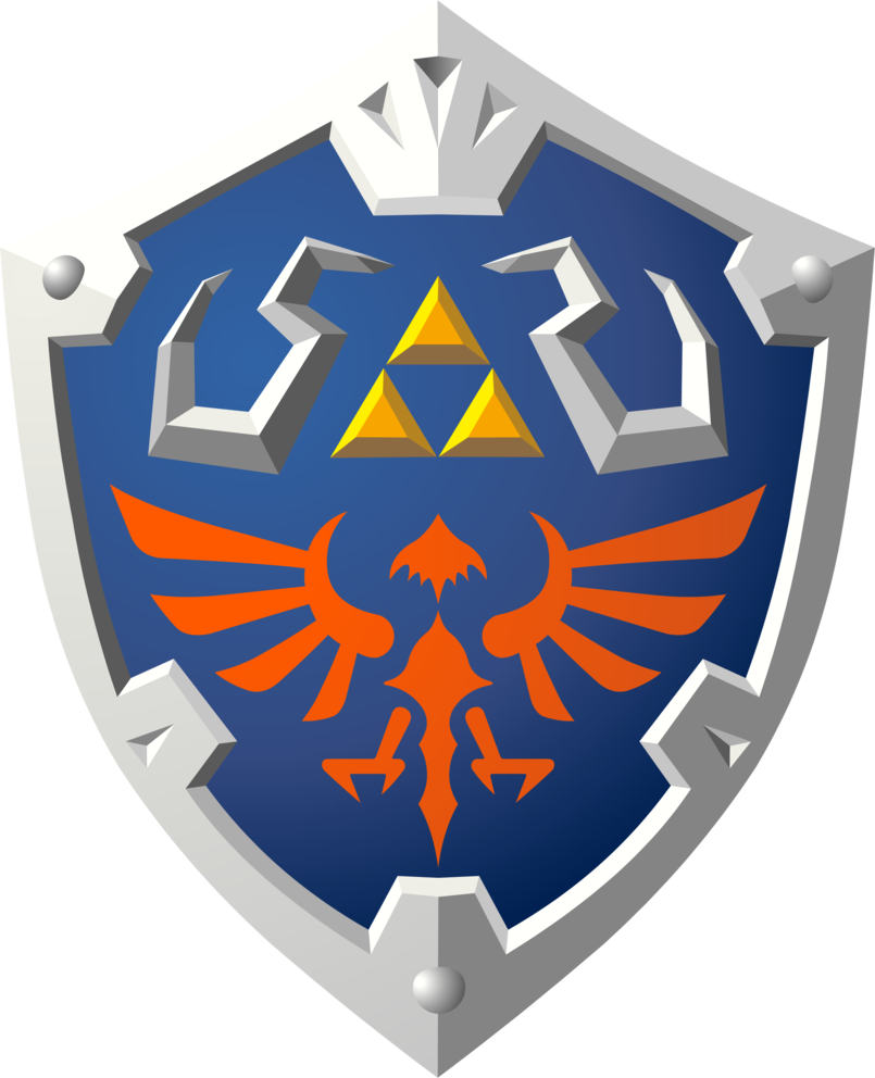 Skyward Hylian Shield by Legend of zelda