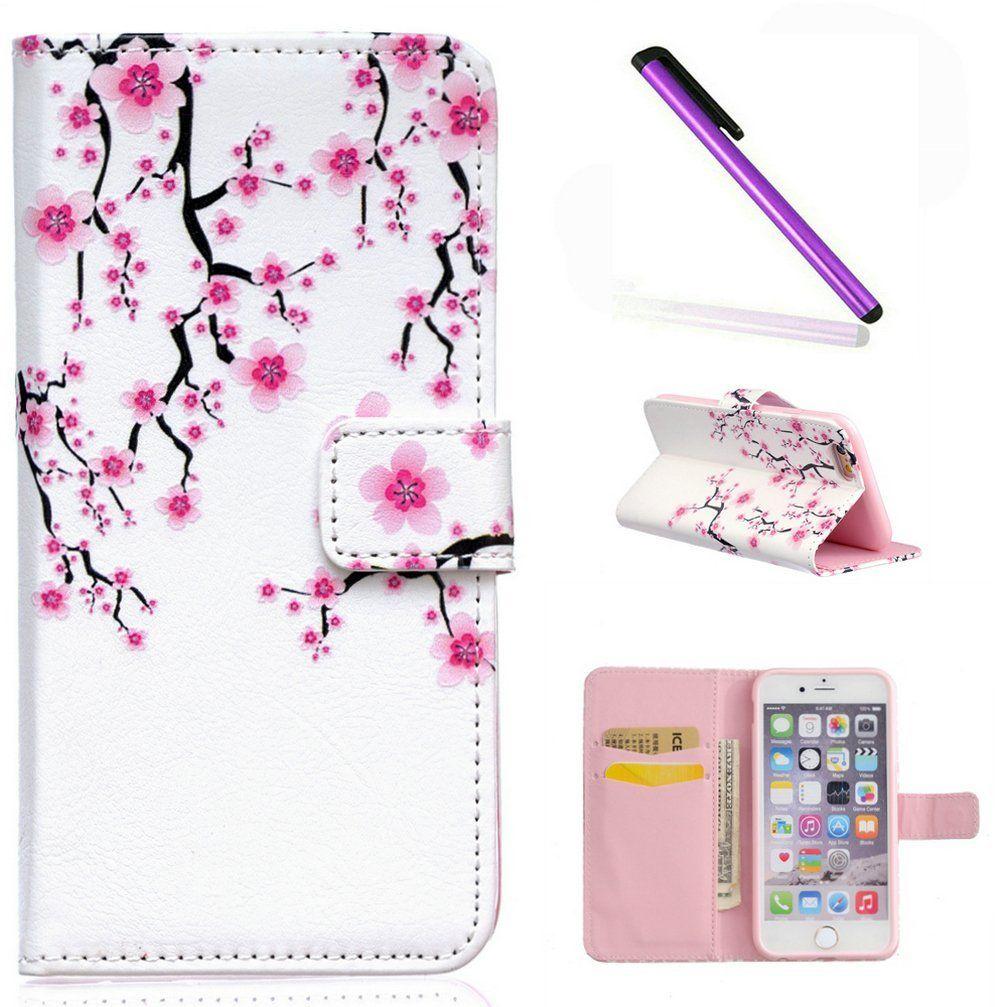 quality design 621e8 735ed iPhone 7 Wallet Case EMAXELER 3D Creative Relief Fantastic Romantic ...
