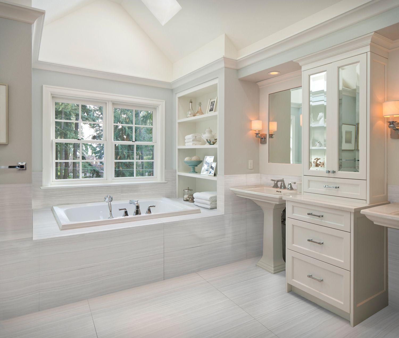 Artistic Tile Matrix Bright Bathroom Bathroom