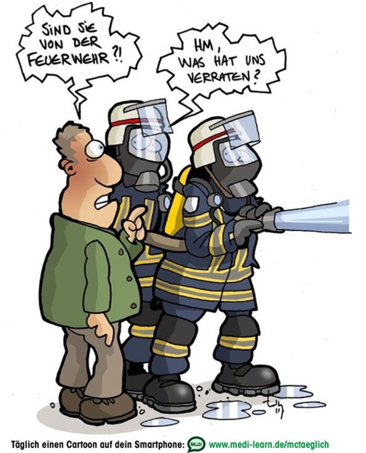 Pin von Olaf Gahre auf medi learn cartoon | Feuerwehr