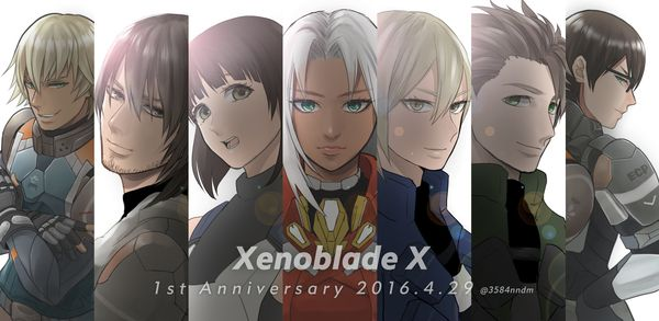 Xenoblade Chronicles X 1 Year Anniversary 2016 By See Manure Xenoblade Chronicles Xenoblade Chronicles 2 Xeno Series
