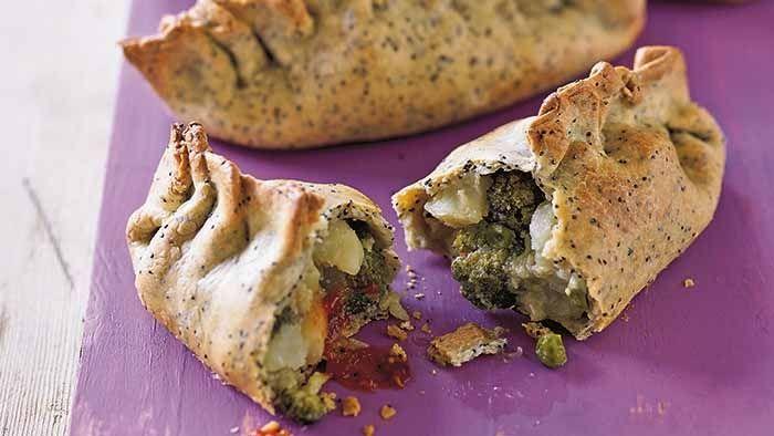 Purple Sweet Potato And Pea Pastie Recipe - Medibank be. magazine