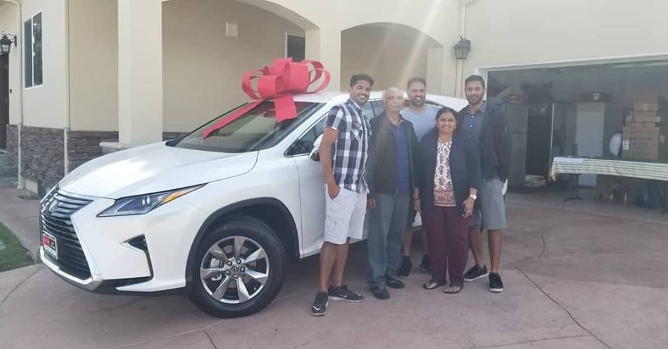 Supporting Local Business Owners Congratulations On Mr Narsai And Family On Their New 2018 Lexus Rx350l Thank You For Your Busine Lexus New Lexus Used Lexus