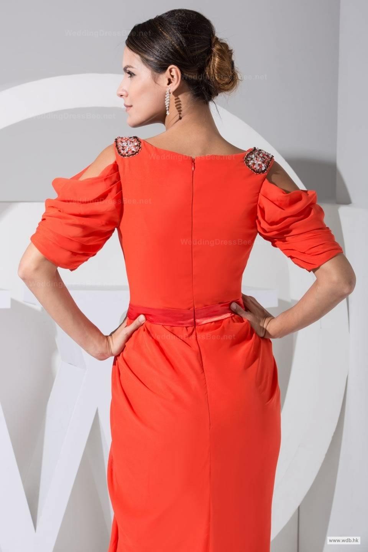 Short sleeve dresses for wedding guests  outdoor bridesmaid dresses Elegant Vneck short sleeve floorlength