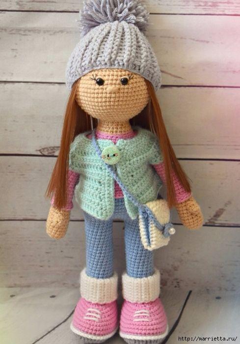 Amigurumi Dolly Stesha Description Of Knitting 1 489x700 230kb