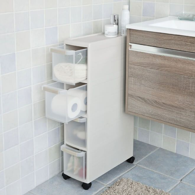 Bathroom Medicine Cabinet With Storage Bathroom Organisation Bathroom Storage Units Slim Bathroom Storage