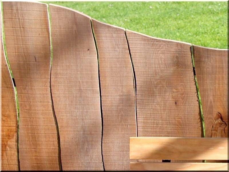 Rustikale Bretter rustikale holzzäune aus unbesäumten erlenholzbrettern