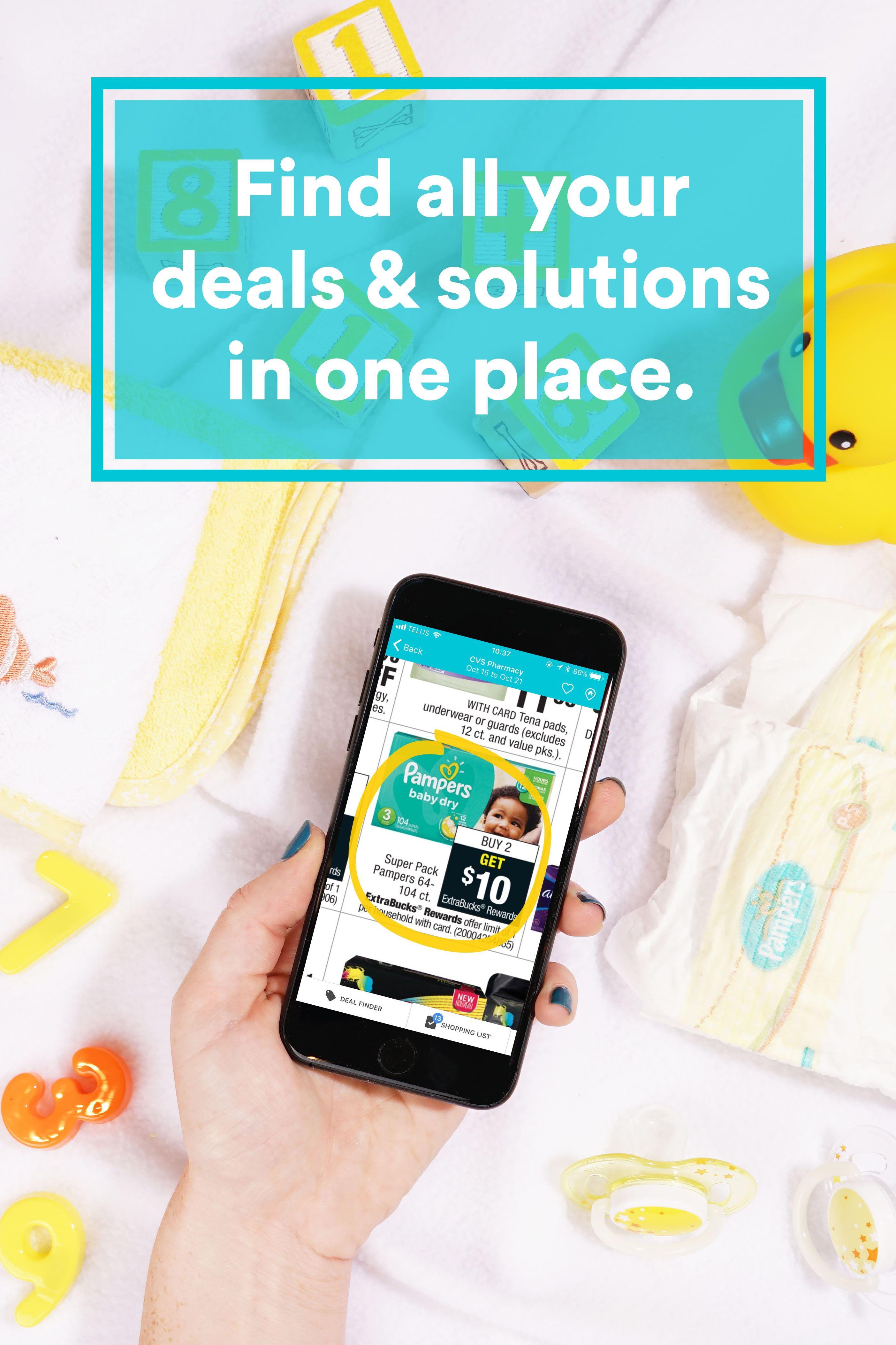 From diapers to baby formula find all the baby deals on