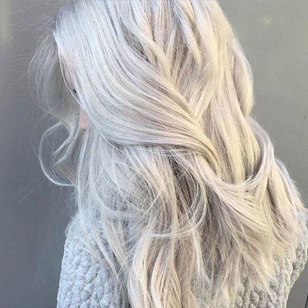 21 Atemberaubende Graue Haar Farbe Ideen und Stile