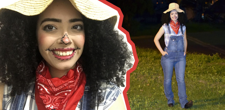 Como Fazer Fantasia de Espantalho Fácil para o Halloween