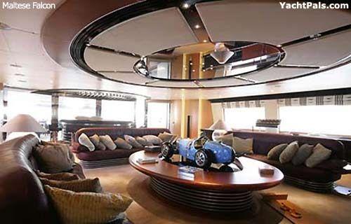Dubai Yacht Interior