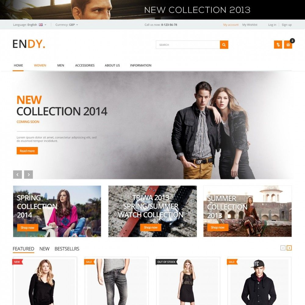 Clothing #Teens Theme #PrestaShop #templates #theme #Addons #Shop ...