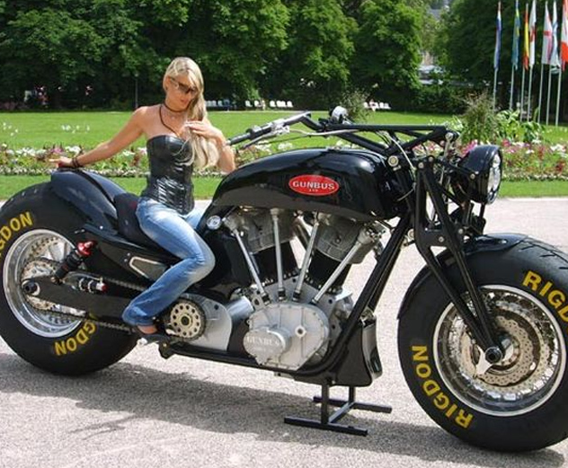 Road Chain: Custom Motorcycles: The Gunbus 410